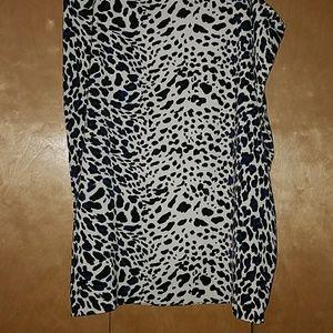 Leopars print skirt